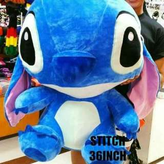 36 Inch Stitch Stuffed Toy