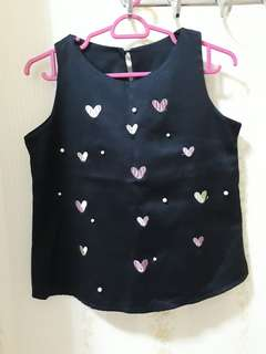 Hearts Crop Top