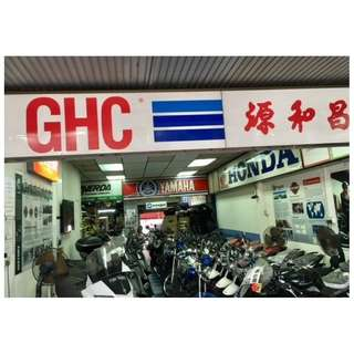 GHC Offer motorbike leasing / rental —  $9 daily ( long term --- 4 years Contact   )  $14 daily ( Mid-term ) $14 daily ( Mid-term )  $29 daily !!!