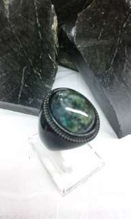 Green and Black Badar Besi/Magnetic Stone