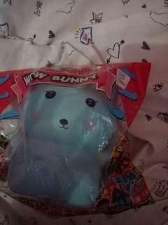 Squishy wow bunny *blue*