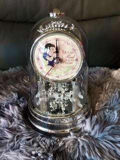 BNIB Disney Princess Swinging Pendulum Clock *Japan*