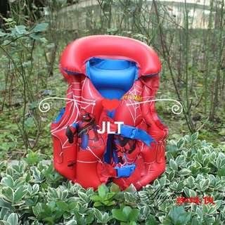 Spiderman Kids Swimming Vest Inflatable