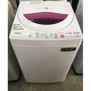 Washing Machine Toshiba 6.5kg Mesin Basuh Auto Recond
