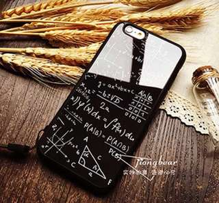 Mathematical Formula iphone 7/8 casing (only black in stock)