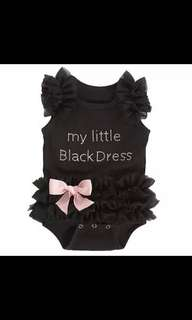 My little black dress romper