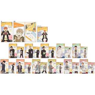 [PO] [GO] Haikyuu!! - Slim Clear File Collection 12Pack BOX