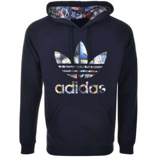 Authentic Adidas Hoodie (Navy)