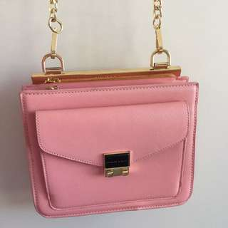 Charles & Keith Baby Pink Bag BNWT