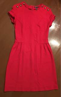 Authentic XS Red Mango Dress