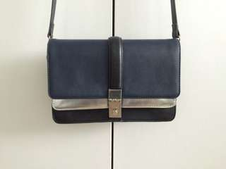 Zara colour block purse