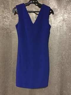 Authentic XS MANGO Blue Suit Dress
