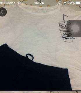 MNG loose cuteee top fits S-M