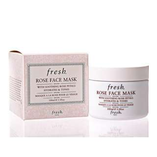 6折 Fresh Rose Face Mask 玫瑰保濕面膜 100ml
