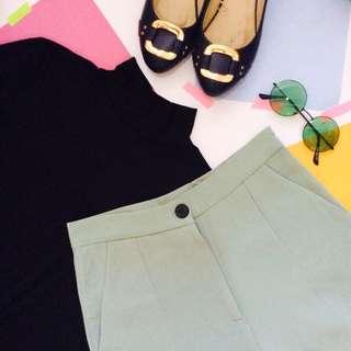 Mint Green Trousers