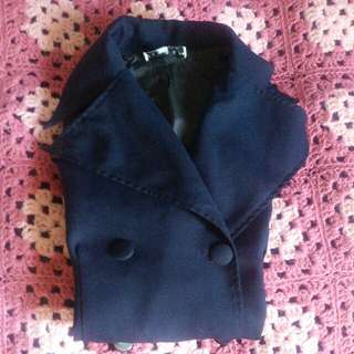 Navy Blue Trench Voat