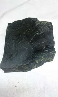 Rough Green and Black Badar Besi/Magnetic Stone