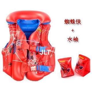 Spiderman Swimming Vest Inflatable