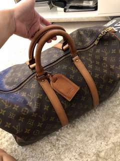 Authentic LV Keepal 50
