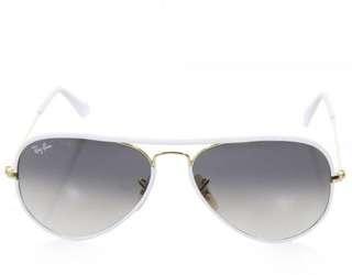Rayban Aviator Full Colour White/Gold