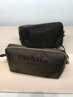 代購Prada尼龍化妝包
