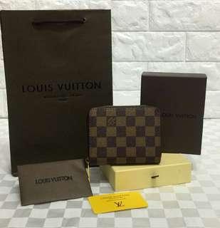 Louis Vuitton Zippy Coin Purse Damier