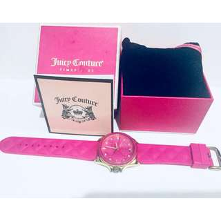 USED Authentic Juicy Couture Estella Watch with silicone strap