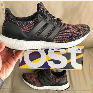 Adidas Ultra Boost Multi Colour 3.0 $320