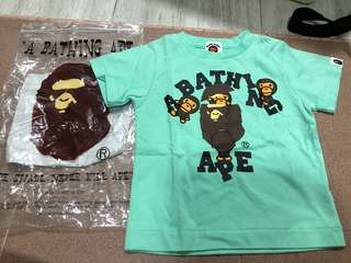 Authentic Brand New Bape Shirt size 90