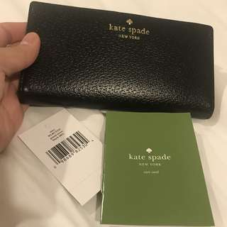 REPRICED: Auth💯 Kate Spade Classic Leather Wallet (Stacey)