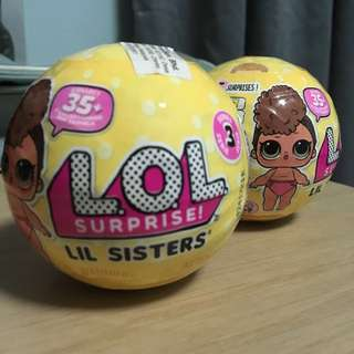 Original LOL Surprise Lil Sisters Series 3