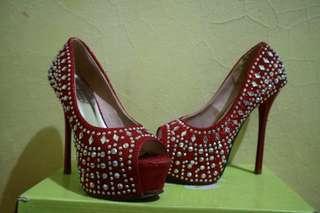 High heels pesta