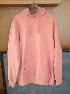 Pull & bear basic fleece hoodie