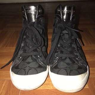 AUTHENTIC Coach Hi-cut sneakers