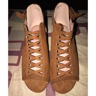 TOP SHOP Gladiator sandals with heels