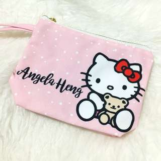 Personalised Hello kitty pouch