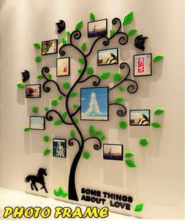 Wall Sticker Tree Photo Frame