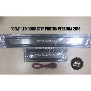 """OEM"" Led Door Sill Plate New Proton PERSONA 2016"