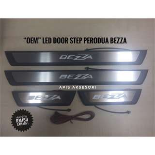 """OEM"" Led Door Sill Plate Perodua BEZZA"