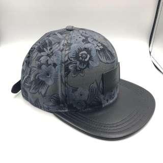 全新 Coach 帽 100%正品藍色花紋