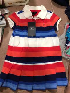 Authentic Brand New Tommy Dress 18m