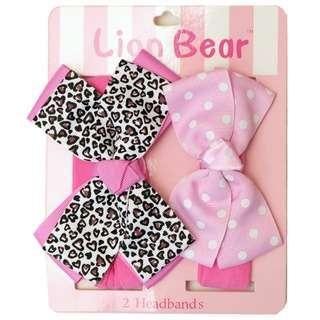 2IN1 Headband Pink