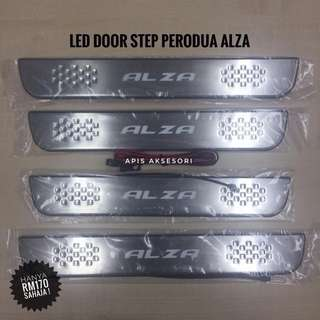 Led Door Sill Plate Perodua ALZA