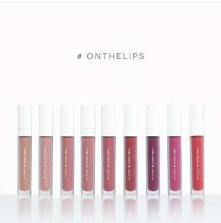 Lip Coat BLP all shades