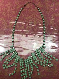 Forever21 mint green necklace/choker
