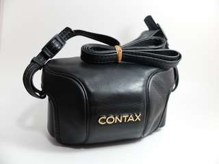Contax TVS Original Soft Leather Case with strap