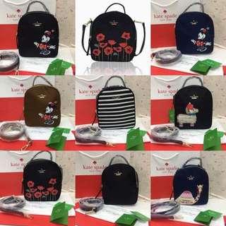 AUTHENTIC KATE SPADE 2 WAY BAG (bagpack/slingbag)