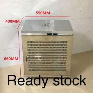12u server wall mount rack economy  Stainless steel 550mm×400mm×660mm