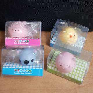 Squishy - Pig, Duck, Rabbit, Koala