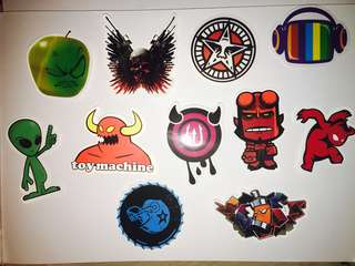 S2 Creepy Laptop Stickers